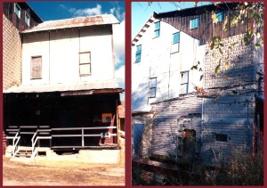 This is what the mill looked like when we bought it 1995